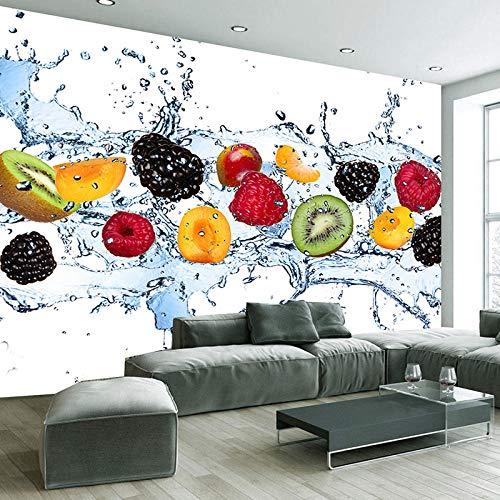 Muurschildering vers fruit fotobehang eetkamer woonkamer keuken achtergrond muurschildering vliesbehang modern-350 * 256cm