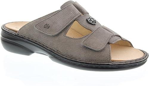 Finn Comfort Comfort Comfort Pantolette Pattaya, Valencia (Nubuck), taupe 2558–493081 06b