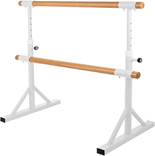 Kays Ballet Barre Bar Mobile Portable Ballet Barre Home Professional Stretch Dance Bar Fitness Practise Equipment Strong Load-bearing With Non Slip Rubber Feet