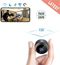 AREBI Spy Camera Wireless Hidden WiFi Mini Camera HD 1080P Portable Home Security Cameras..