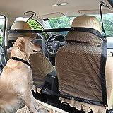 fbartl Pet Perros Coche Carries Suministros para el acoso del Coche Red de separación Mascota...