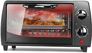 Horno Eléctrico con Temporizador De 60 Minutos para Pizza Pastel De Pollo a La Parrilla Temperatura Ajustable Material De Aleación Gruesa Vidrio Templado Antiarañazos