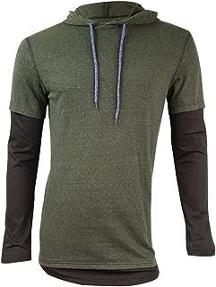 American Rag Men's Colorblocked Long-Sleeve Hooded T-Shirt