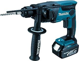 Makita DHR165RMJ rotary hammers 5300 RPM - Martillo perforador (1,6 cm, 5300 RPM, 1,3 J, 1,3 cm, 2,4 cm, Negro, Azul)