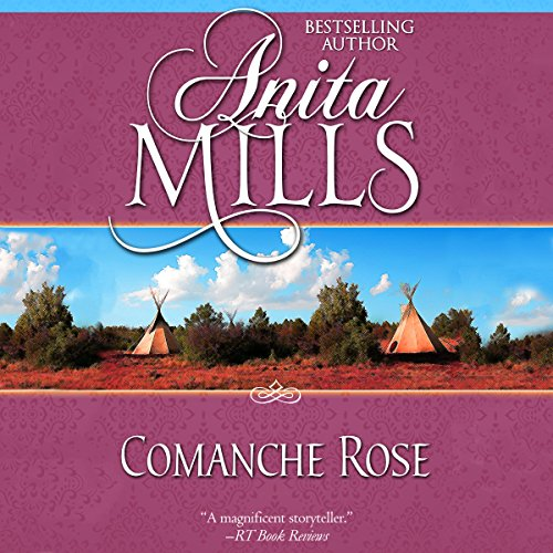 Comanche Rose audiobook cover art