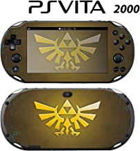 Decorative Video Game Skin Decal Cover Sticker for Sony PlayStation PS Vita Slim (PCH-2000) - Zelda Triforce Logo