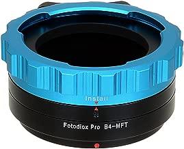 Fotodiox Pro Lens Mount Adapter, B4 (2/3
