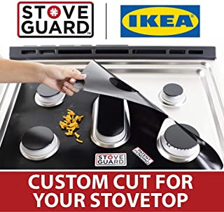 Ikea Stove Protectors - Stove Top Protector for Ikea Gas Ranges - Ultra Thin, Easy Clean Stove Liner