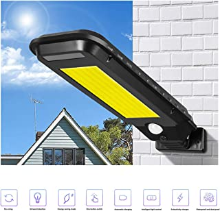 Coxeer Garden Wall Lamp Portable Motion Sensor Light LED Landscape Light for Home