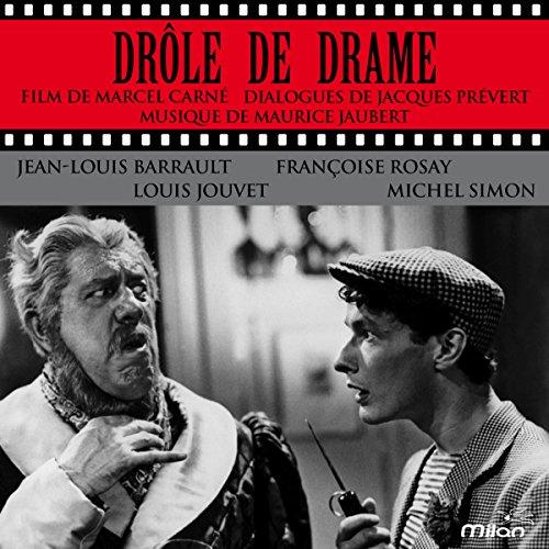 Couverture de Drôle de drame tiré du film de Marcel Carné