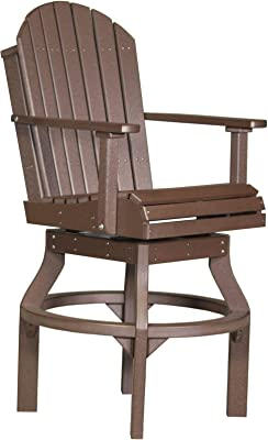 Amazon.com : Wildridge Heritage Outdoor Swivel Rocker Side ...