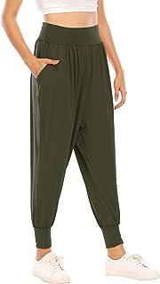 Koscacy Womens Yoga Pants,Jogging Pants with Pockets Active Workout Athletic Pant Plus Baggy Sweatpants Ladies Stretchable...