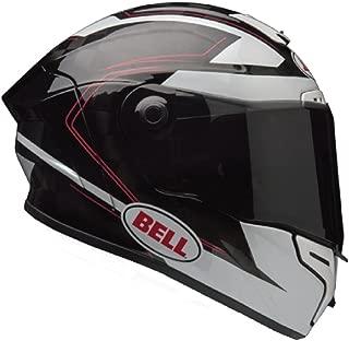 Bell Pro Star Unisex-Adult Full Face Street Helmet (Ratchet Black/White, Small) (D.O.T.-Certified)