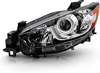 ACANII - For 2013-2016 Mazda CX-5 Factory Halogen Models Projector Headlight Headlamp Assembly Replacement Driver Side
