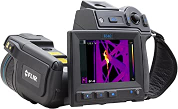 FLIR 55904-6922 Model T640-25 Thermal Imaging IR Camera with Wi-Fi and 25° Lens; Built-in touch screen, 4.3