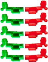 Gekufa 88981030 Tailgate Handle Rod Clip Left & Right Rod Retainer Clips Fit for 1999-2007 Chevy Silverado GMC Sierra, Replace 88981031 (5 Pairs)