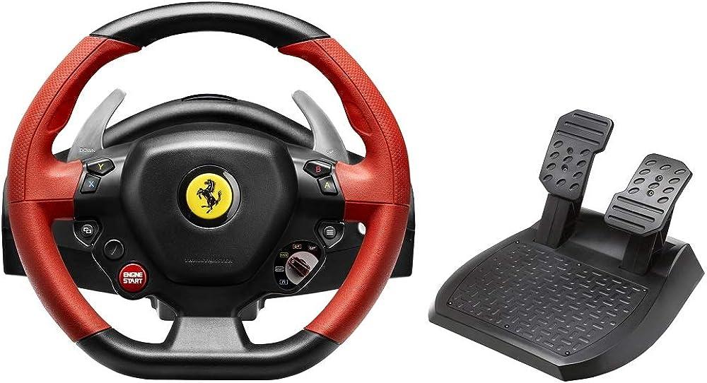Thrustmaster, ferrari 458 spider (volante inkl. 2-pedali, xbox one) 4460105