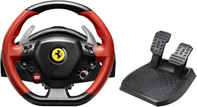 Thrustmaster 4460105 FERRARI 458 SPIDER RACING WHEEL OFFICIAL FERRARI & XBOX ONE LICENSED - XBOX ONE RACING WHEEL