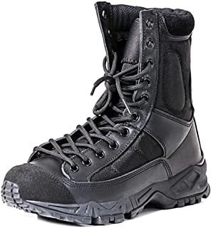 Men's Lace Up Combat Boots Army Military Tactical Boot Special Forces Shoes