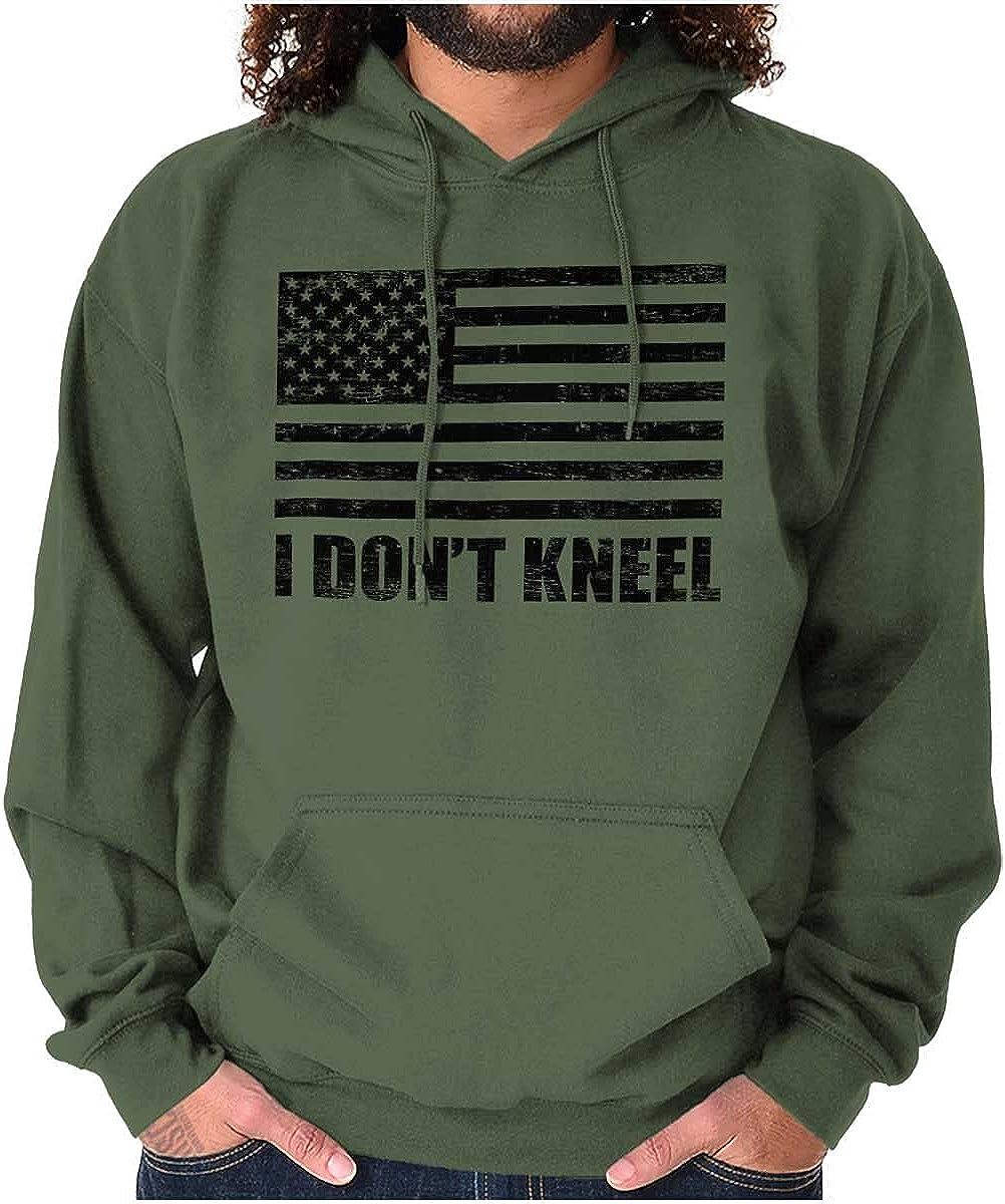 Don't Department store Kneel Anti Protest Patriotic Sweatshirt Hoodie Cheap mail order shopping Women