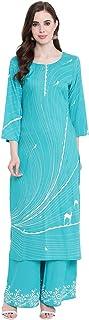 BI AMMA Women's Rayon Readymade Salwar Suit