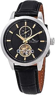Open Heart GMT Automatic Black Dial Men's Watch LP-28007A-01-GA