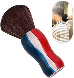 Neck Sweep Brush Anti-Static Not Shed Hair Soft Broken Hair Brush Professional Hair Salon Use for Barber Shop(Broken hair ...