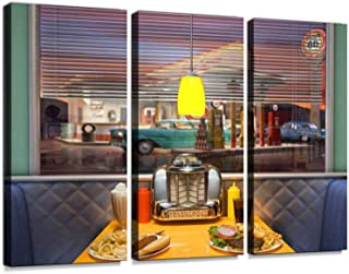 american retro diner booth