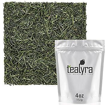 Tealyra - Hibi Uji Gyokuro - Luxury Japanese Green Tea - Rich Umami - High Antioxidants Pure Green Tea - Medium Caffeine - 112g  4-ounce