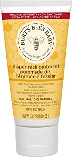 Burts Bees Baby Bee 100% Natural Diaper Rash Ointment, 3 Ounces