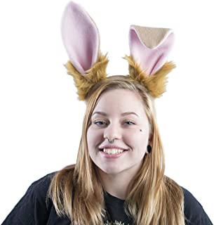 tan bunny costume