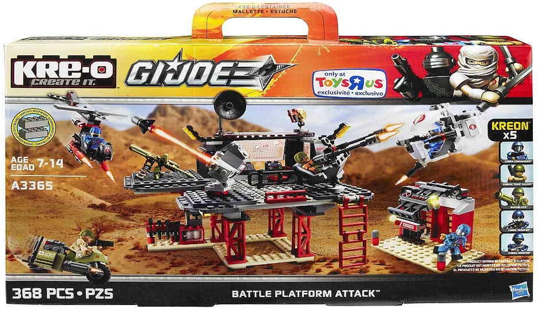 KRE-O GI Joe Battle Platform Attack A3365 by G. I. Joe B00BE5THFE  Vielfalt    | Outlet Store Online