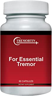 Tremortin – Natural Essential Tremor Herbal Supplement - Offers Relief for Shaky Hands, Arm, Leg and Voice Tremors (60 Capsules)
