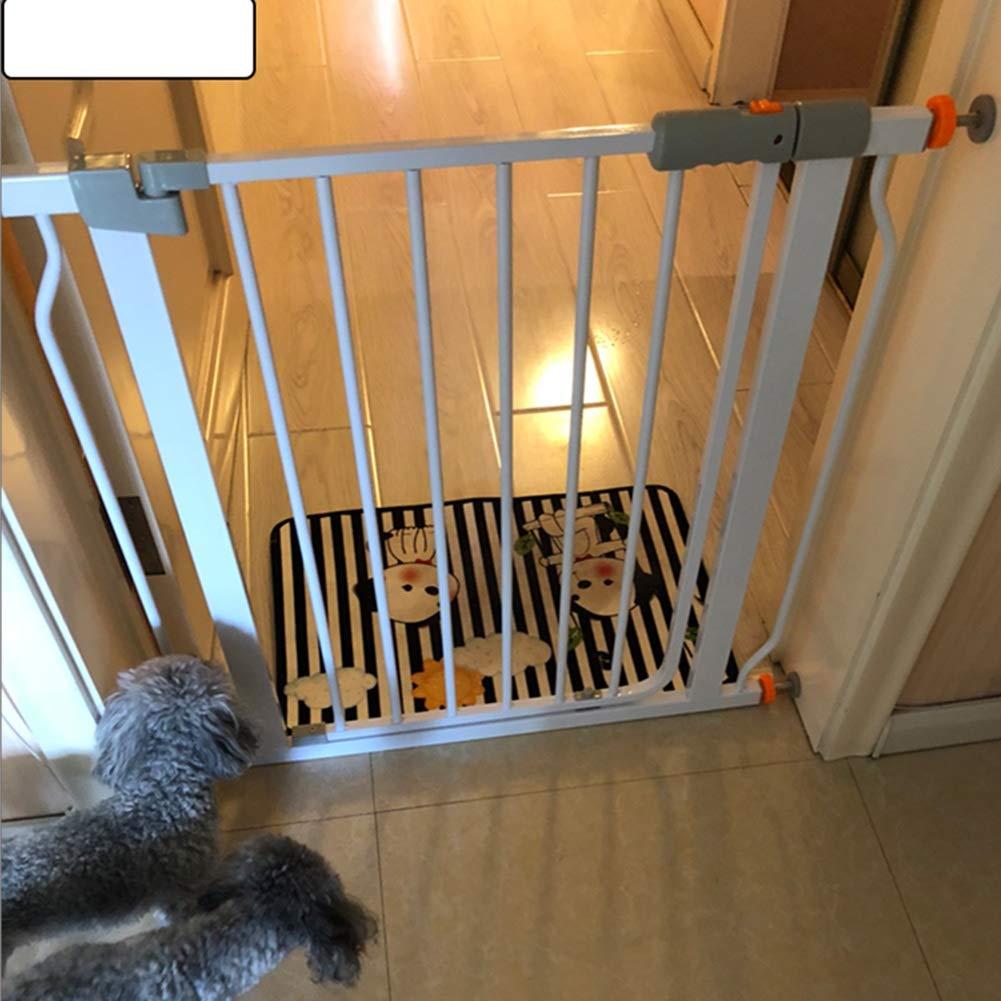 ZEMIN Barrera De Seguridad Escalera Puerta for Niños Perros Juguete Protector, Balcón, Escalera, Auto Cerrado, Multi-tamaño (Color : White, Size : W 160-167cm): Amazon.es: Hogar