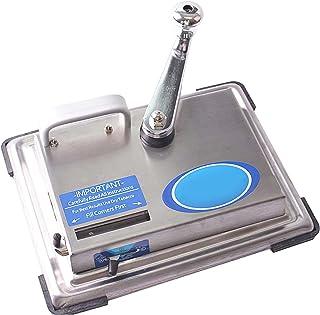 OUZHOU Kompakt manuell cigarettmaskin rostfritt stål cigarettrullning maskin bärbar cigarett gör-det-själv gör maskinen ef...