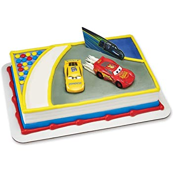 Oasis Supply Dragster Rail Cars Racing Cake Decorating Topper Kit 650072