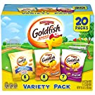 Pepperidge Farm Goldfish Sweet & Savory Variety Pack Crackers, 19.5 Ounce Snack Packs, 20 Count