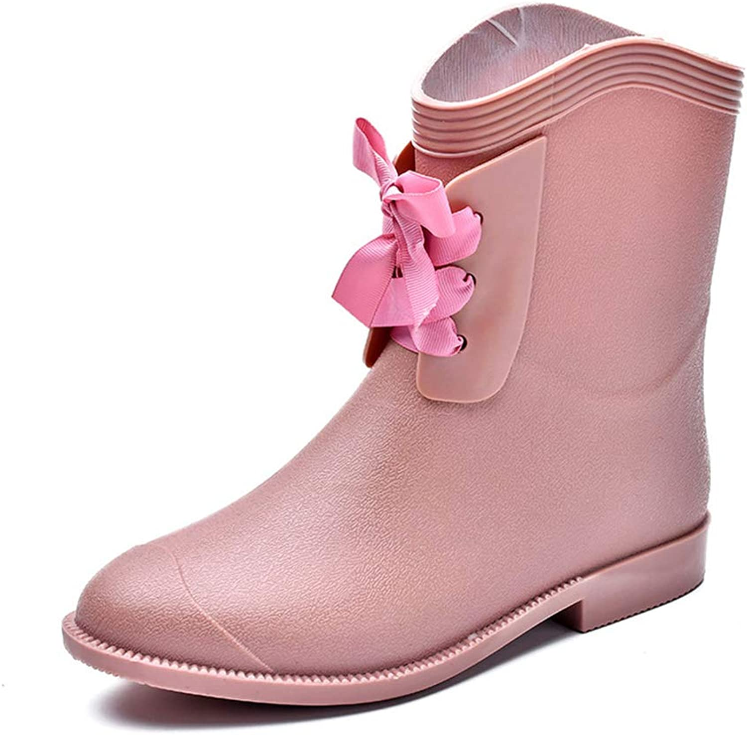Quality.A New Women's Water shoes Rubber Boots rain Boots Waterproof Boots