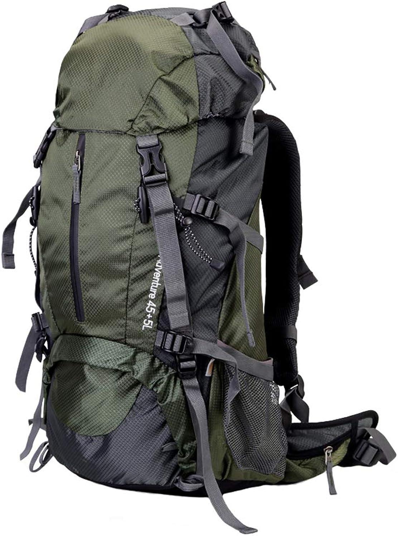 XYW-0006 Outdoor-Rucksack Bergsteigenbeutel abnehmbare Trage Trage Trage Männer und Frauen Multifunktions RAIN Cover Umhängetasche MultiFarbe 60L B07KM5FQHB  Einzigartig d0fa5c