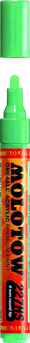 Molotow ONE4ALL Acrylic Paint Marker, 4mm, Calypso Middle, 1 Each (227.240)