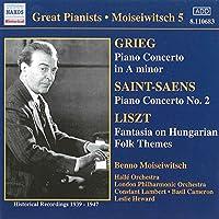 Grieg:Piano Concerto/Liszt:Fan