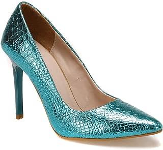 19K-969 Turkuaz Kadın Gova Ayakkabı