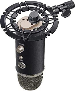 Blue Yeti Shock Mount, Alloy Shockmount Reduces Vibration Noise Matching Mic Boom Arm, Compatible for Blue Yeti and Yeti Pro Microphone by YOUSHARES
