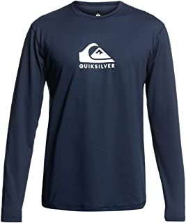 Quiksilver Men's Solid Streak Rash Guard Shirt