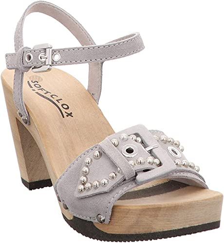 Softclox Damen Sandalette Fanny Kaschmir Farbe Grau