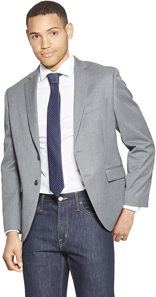 Goodfellow & Co Men's Standard Fit Suit Jacket - (Thundering Gray, 42R)