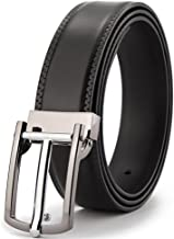 Men's Leather Belt Young Cattle Business Leather Belt Buckle Pin Leisure Men Fashion (Size : 120cm)