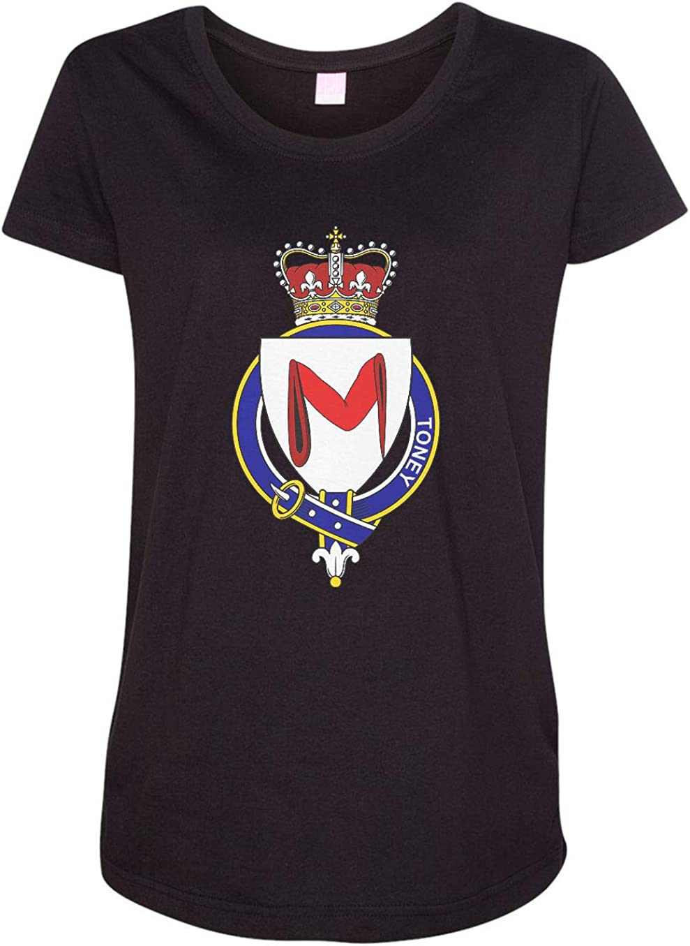 HARD EDGE DESIGN Women's English Garter Family Toney T-Shirt