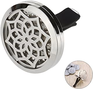 ULTNICE Clip di Locket Öl Diffusor Auto Luftbefeuchter Aromatherapie Clip Locket mit 10 waschbaren Bettlakenfüllern