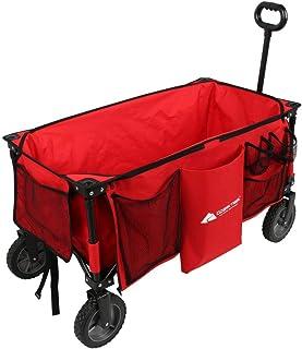 Ozark-Trail Folding Wagon, Red